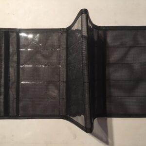 "black folding dodger jacket 20 2 1/4x 6"" pockets with handle"
